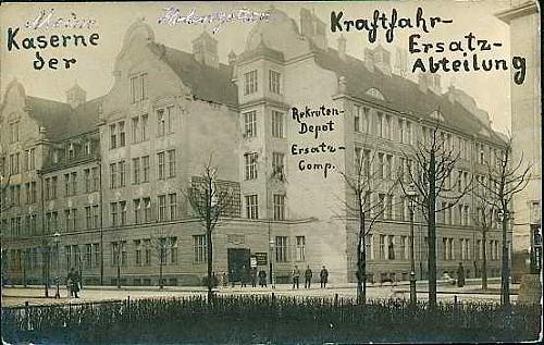 Die_Hohenzollernschule im ersten Weltkrieg