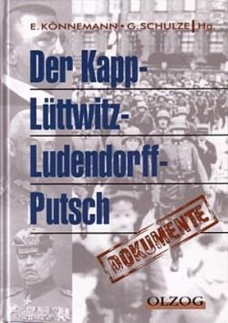 Dokumente zum Kapp-Lüttwitz-Putsch.