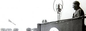 Hitler im Wedaustadion 1932